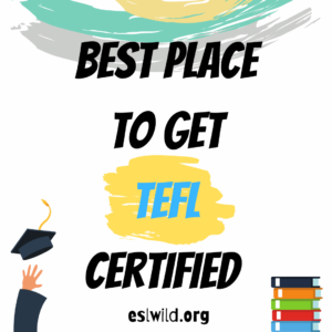 BEST Place to Get TEFL Certified