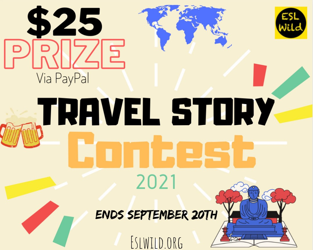 Travel Story Contest!