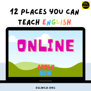 12 more Places You Can Teach English Online